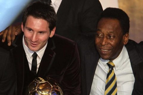 Pele visited India, said will choose Messi over Ronaldo anyday