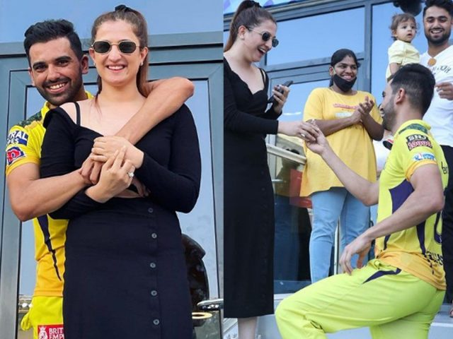 Deepak Chahar's CSK Teammates, Led By MS Dhoni, Did This After He Proposed To Girlfriend