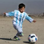 5-year-old Messi Fan Forced Escape To Afghanistan, After Death Threats