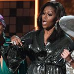 Michelle Obama's Grammy speech got an enormous acclamation