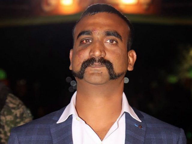 Abhinandan Returns…with his moustache high on pride!
