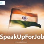 #SpeakUpForJobs
