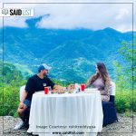 Anita Hassanandani And Rohit Reddy Had Breakfast with a view…